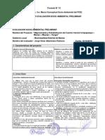Formato Evaluacion Socio Ambiental Preliminar (Fotmato 12 - Anexo 3-A) (Autoguardado)