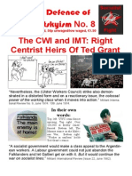 In Defence of Trotskyism No. 8