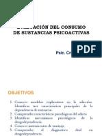 EVALUACIÓN DEL CONSUMO  DE SUSTANCIAS PSICOACTIVAS