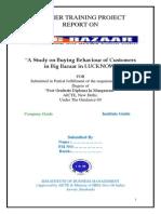156711696 Big Bazzar Research Project