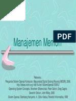 SO8 Manajemen Memori