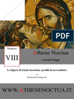La Figura Di Giuda Iscariota Profili Di Un Traditore Saggi Athene Noctua VIII