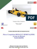 Catálogo Fórmula Renault 2000