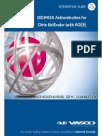 DIGIPASS Authentication for NetScaler