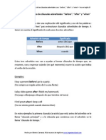 "2.5.- Significado y usos de las clausulas adverbiales ""before"", ""after"" y ""when"".pdf"