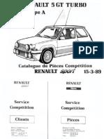 Catálogo GT Turbo Gr.A