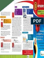 B Imune Brochure