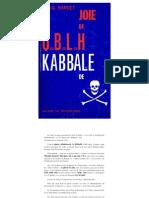 Bardet Jean Gaston Qabalah de Joie Kabbale de Mort