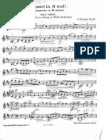 Concierto en B Menor Opus 35 de Oscar Rieding- Solo de Violin