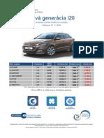 Hyundai i20 - Cenník November 2014