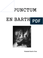 El punctum en Barthes
