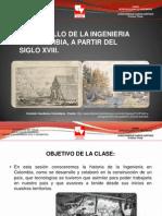 Desarrollo de La Ingenieria en Colombia