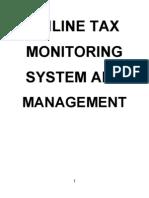 Online Tax Monetary System