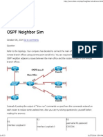 CCNA Training » OSPF Neighbor Sim