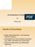 Franchise Model In India