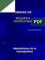 3. Bioquímica Eritrocitaria 2012
