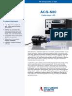 ACS-530 Calibration LED