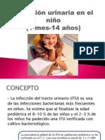 Infección urinaria en el niño.pptx