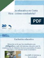 Isabel Román - Exclusión Educativa en Costa Rica - cómo combatirla