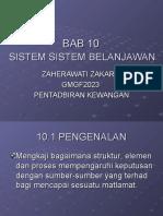 Sistem Sistem Belanjawan