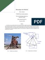 Mecanique Trebuchet