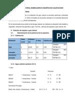 Calculos de Gas Natural Domiciliario e Equipos de Calefaccion