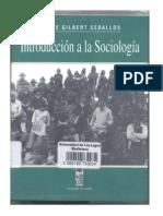 Introduccion a La Sociologia - J. Gilbert
