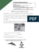 Evaluación de Ciencias Naturales Agosto