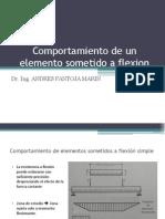 Comportamiento de Un Elemento Sometido a Flexión_1ra Clase
