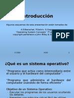 Sistemas Operativos Tema 1 Introducción
