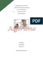Algoritmo Diagrama de Flujo