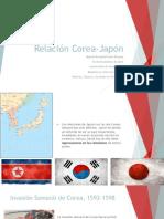 Relación Corea Japón