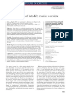 The Prevalence of Late Life Mania