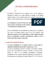 13. Primera Ley de La Termodinamica