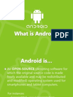Android, its flavors and AndroidOne