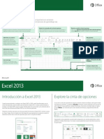 Excel 2013. Guía Inicio Rapido (Microsoft)