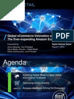 Kantar Retail Digital Webinar - Global ECommerce Innovation Amazon 080614