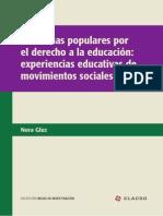 Los Movimientos Sociales en Educación.- Nora Gluz