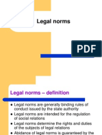 Legal Norms