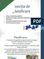 Functia de Planificarekdnbkd