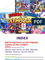 MARIO AND SONIC AT THE OLYMPIC GAMES FOR WII AND NINTENDO