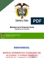 Farmacodependencia en El Ambiente Laboral - Min. Proteccion