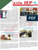Boletín 6 año 5 Instituto de Educación y Pedagogía