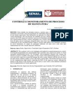 CONTROLE E MONITORAMENTO DE PROCESSO DE MANUFATURA