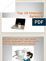 top 10 internet safetys