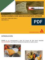 Inyecciones Con Microcemento Spinor