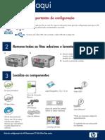 HP C7180 Guia de Configuração