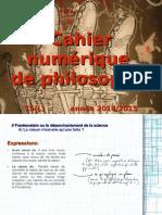 Cahier numérique de philosophie_ TS(L) _La raison et le réel