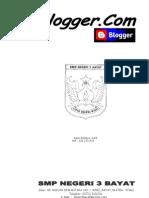 Modul Belajar Blog.......Dari SMPN 3 Bayat Klaten