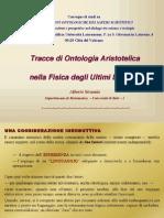 Ontologia Aristotelica nella Fisica